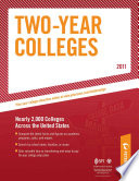 Undergraduate Guide Two Year Colleges 2011