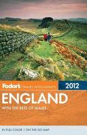 Fodor's England 2012