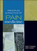 Principles   Practice of Pain Medicine  Second Edition Book