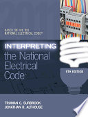 Interpreting the National Electrical Code Book