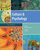 Culture and Psychology Book PDF