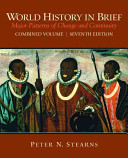 Cover of World History in Brief