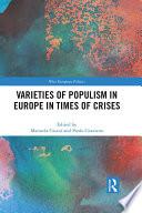 Varieties Of Populism In Europe In Times Of Crises