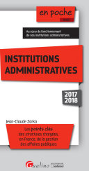 Institutions administratives 2017-2018