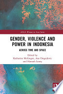 Gender Violence And Power In Indonesia