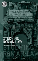 Studying Roman Law