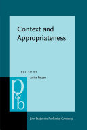 Context and Appropriateness