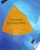 Classroom Teaching Skills Book PDF