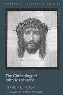 The Christology of John Macquarrie