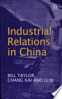 Industrial Relations in China