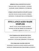 Cinco Idiomas Han Hecho Más Fácil