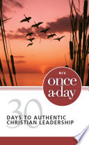 NIV  Once A Day  30 Days to Authentic Christian Leadership  eBook