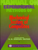 Manual On Experimental Methods For Mechanical Testing Of Composites Book PDF