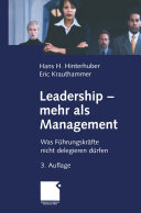 Leadership - mehr als Management