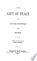 A Gift of Peace and Loving Greetings Book