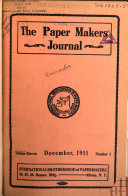 The Paper and Pulp Makers  Journal