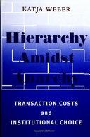 Hierarchy amidst Anarchy ebook