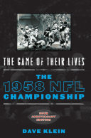 The Game of Their Lives Book
