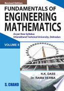 Fundamental Of Engineering Mathematics Vol Ii Uttra Khand  Book PDF