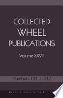 Collected Wheel Publications Volume XXVIII Book