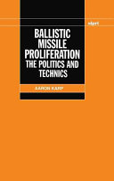 Ballistic Missile Proliferation