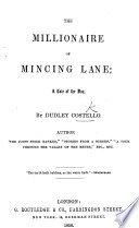 The Millionaire of Mincing Lane: a Tale of the Day