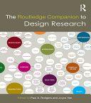 The Routledge Companion to Design Research