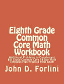 Eighth Grade Common Core Math Workbook
