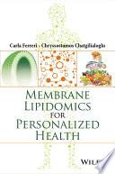 Membrane Lipidomics for Personalized Health Book