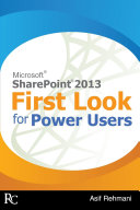 SharePoint 2013   First Look for Power Users