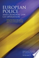 Download European Police and Criminal Law Co-operation Epub