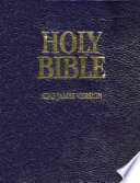 Kjv Loose Leaf Bible With Binder Book