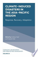 Climate Induced Disasters in the Asia Pacific Region
