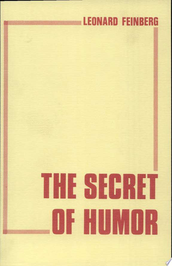 The Secret of Humor