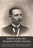 Bulletin Of The New Hampshire Public Libraries