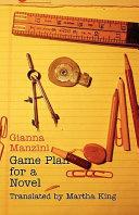 Game Plan for a Novel