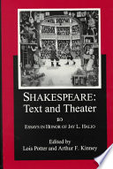 Shakespeare  Text and Theater