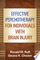 Effective Psychotherapy for Individuals with Brain Injury Book