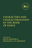 Characters and Characterization in the Book of Kings Pdf/ePub eBook