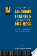 Directory of Language Training and Services for Business Book