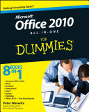 Office 2010 All In One For Dummies