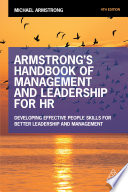 Armstrong s Handbook of Management and Leadership for HR