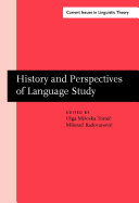 History and Perspectives of Language Study Pdf/ePub eBook