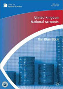 United Kingdom National Accounts 2009 Book