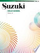 Suzuki Cello School   Volume 10