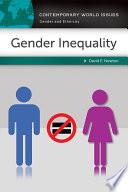 Gender Inequality  A Reference Handbook