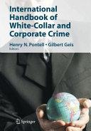 International Handbook of White-Collar and Corporate Crime Pdf/ePub eBook