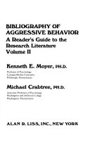 Bibliography of Aggressive Behavior