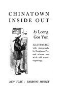 Chinatown Inside Out Book PDF