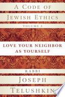 A Code of Jewish Ethics